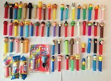 PEZ Dispensers LOT of 64 Disney Marvel Star Wars Simpsons Holiday Muppets Misc