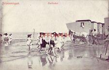 NETHERLANDS - SCHEVENINGEN - VOETBADEN- dames op het strand