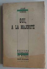 Oui a la majorité Jean Gomès 1944