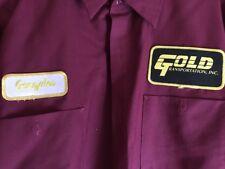 Vintage 90s Mechanic  Auto Shop Shirt Men's X Large Long Sleeve