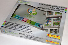 Panini World Cup WM Germany 2006 - COMPLETE SET komplett ALBUM +144 MINISTICKERS