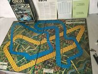 Vintage Game 1977 Speed Circuit Game Avalon Hill's Speed Racing Board Game Rare