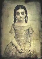 Antique Victorian Era Post Mortem Photo 112 Oddleys Strange & Bizarre