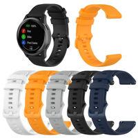 22mm Silicone Wristband Watch Band Bracelet Strap Belt for Garmin Vivoactive 4