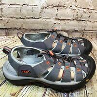 KEEN Newport H2 Men's Gray Waterproof Fisherman Hiking Sandals Size 12