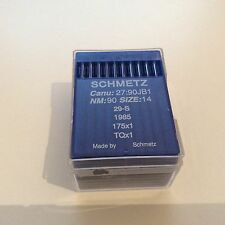Schmetz 175x1, 29-s, CANU 27:90JB1 industrial buttonsewer casi como nuevo agujas 90/14x100