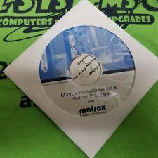 MATROX PARHELIA SERIES & MATROX P-SERIES DRIVER CD