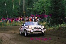 Antero Laine Mitsubishi Starion Turbo 1000 Lakes Rally 1986 Photograph 2