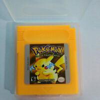 GBC Pokemon Yellow Version Game Boy Color New Video Game Cartridge