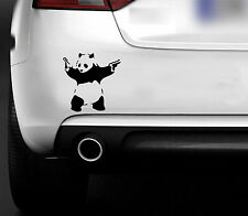 BANKSY PANDA  FUNNY CAR,BUMPER,WINDOW STICKER / JDM EURO DRIFT