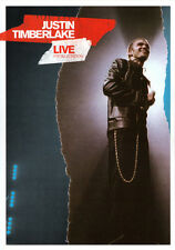 Justin Timberlake: Live From London  - DVD - NEW Region 4