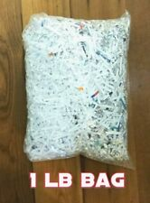 Shredded paper 1 pound Packing and Craft material 100% recycled materials