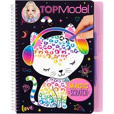 Depesche TOPModel Magic Scratch Book CAT COVER