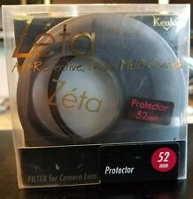 BRAND NEW!!! Kenko Zeta 52mm Zr Smc Ultra Thin Protector Filter