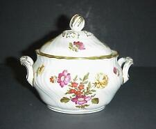 Richard Ginori Covered Sugar Bowl Production 1824 Fleurs Par Donnibarozopi