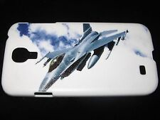 USAF Hard Cover Case for Samsung S4 IV Air Force F16 Fighter Jet In the Sky