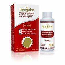 Lipogaine for Men 60ml/2oz Minoxidil Intensive Treatment For Regrowth Hair Loss
