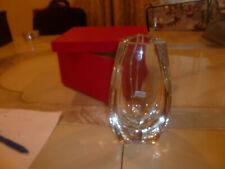 Baccarat Bouton D'Or Crystal Vase