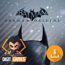 Batman Arkham Origins-Steam/PC Spiel-NEU/Action [OHNE CD/DVD]