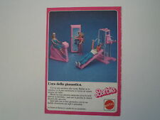 advertising Pubblicità 1985 BARBIE MATTEL