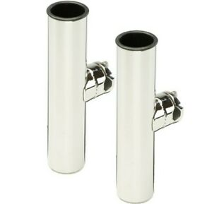 BLACKTIPStainless Steel Clamp-on Double Rod Holders