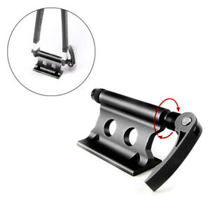 Black CNC Bicycle Fork Holder Bike Support Screw Mount for Pickup Truck Bed Rack