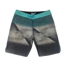 Fox Racing Mens Swim Trunks multi Colored H20 Swimwear Bottoms Size 32 16149-176
