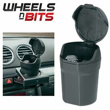 New Car VAN TRUCK Ash Tray Cup holder Size Ashtray Holder & Lid Magnetic Base