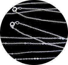 BLOW-OUT SALE:  SILVER 15 INCH CHAINS.  70% SILVER CONTENT. MADE IN THE USA.