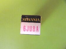6JU8A SYLVANIA VINTAGE (TUBE), (NEW IN BOX / NEW OLD STOCK).