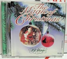 Very Rare The MAGIC Of CHRISTMAS 101 STRINGS CD  - LN -  12 Tracks   1997