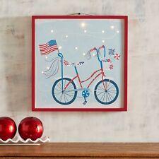 Pier 1 -- Patriotic / American -- LED -- Wall Decor -- Americana Bike