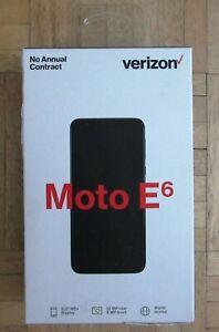 Motorola Moto E6 (Locked for Verizon) Smartphone