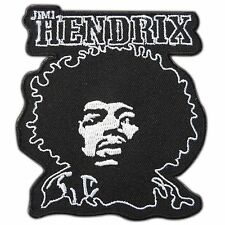 Jimi Hendrix Face Logo Rock Guitar Legend Classic Music Iron-On Patches #M0103