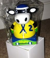 *BRAND NEW* DAIRYLEA RACER COW, MOOING MOO-SICAL - YELLOW SKATER COW