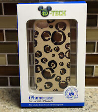 New Disney Parks MICKEY Animal Print iPhone 5 Smartphone Cell Phone Clip Case