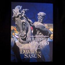 David de Sasún DAVIT of SASSOUN Sassoon, Sassun, ARMENIAN & SPANISH- H. Tumanyan