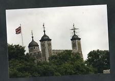 C1990s Original Photo: Weather Cock Under Repair, Tower of London