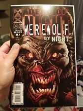 Dead Of Night Werewolf By Night 1 NM to Mint!! Marvel Max Comics 2009