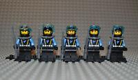 Lego Figuren Konvolut Aqua Raiders II  aqu023 aqu025 aqu026