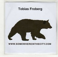 (GS850) Tobias Froberg, Somewhere In The City - 2006 DJ CD