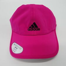 Womens adidas Superlite Cap Pink Climalite Real Magenta Lightweight Running  Hat bc47e6087353