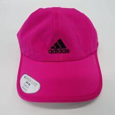 8187e1cbda0 Womens adidas Superlite Cap Pink Climalite Real Magenta Lightweight Running  Hat