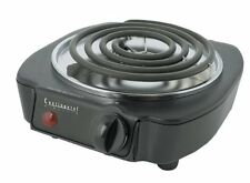 Continental Electric 1100-Watt Single #Burner #Dorm #HotPlate Portable New