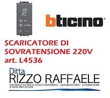 BTICINO LIVING LIGHT antracite scaricatore di tensione 220V L4536