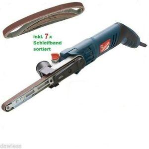 Powerfeile /Elektrofeile/Bandschleifer 13x457 Leichtgewicht 1KG inkl Zubehör