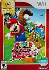 NINTENDO WII GAME - MARIO: SUPER SLUGGERS BRAND NEW SEALED
