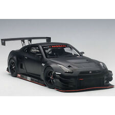 Autoart Nissan GT-R Nismo GT3 1:18 Model Car 81580 Matt Black