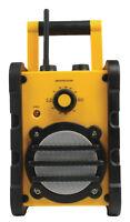 Garden Workshop Site Radio AUX FM Radio Work robust portable Audio Hi-Fi modern