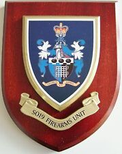 SO19 FIREARMS UNIT METROPOLITAN POLICE CLASSIC HAND MADE IN UK MESS PLAQUE